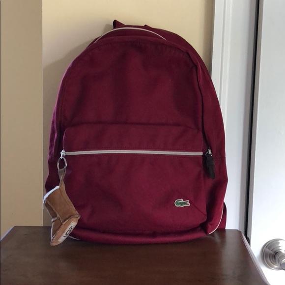 Lacoste book bag